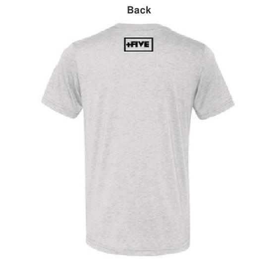 Logo nsfl men's white tee - plus five apparel - 2021
