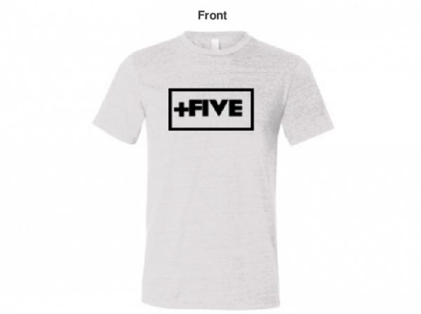 Essential men's white tee - plus five apparel - 2021
