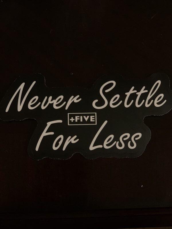 Nsfl stickers - plus five apparel - 2021