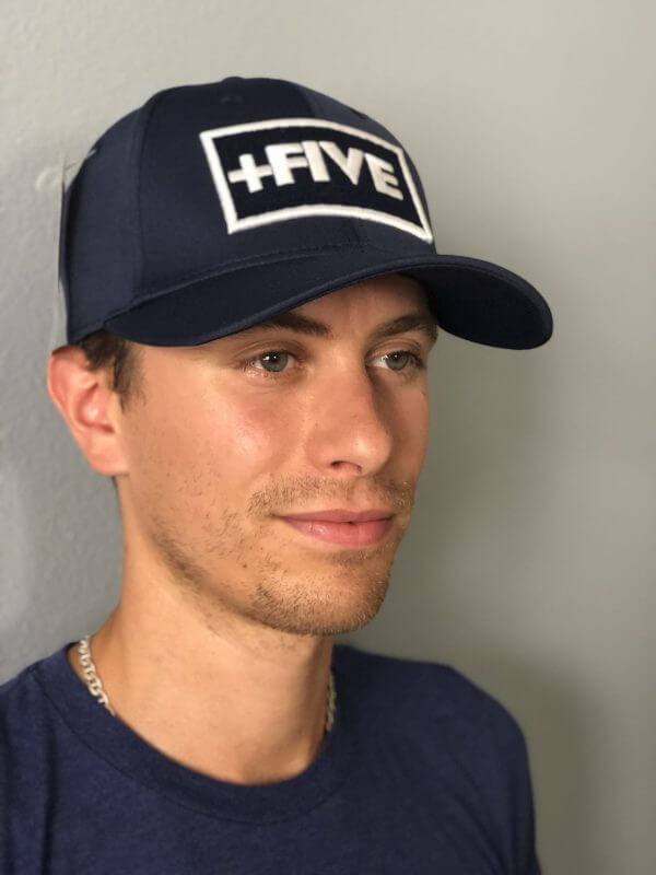 '+five stretch fit hats - plus five apparel - 2021