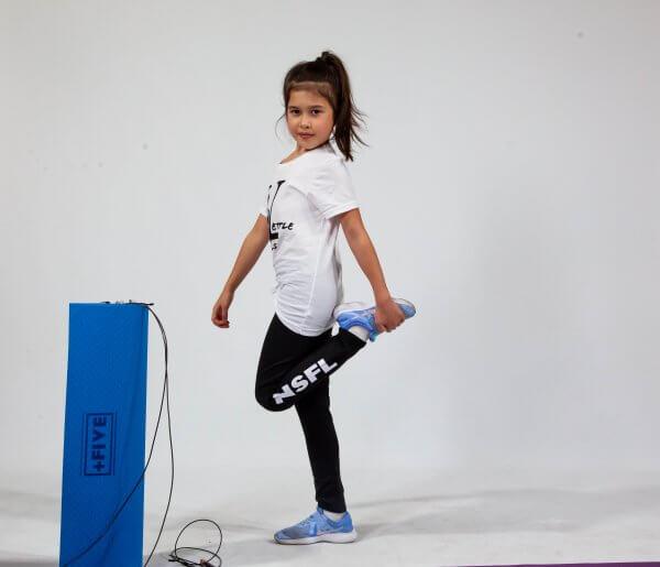 Girls/ladies never settle legging - plus five apparel - 2021