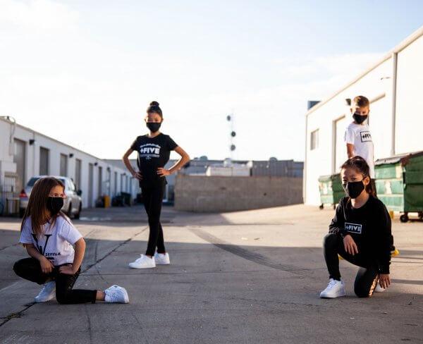 Plus five established youth tee - plus five apparel - 2021