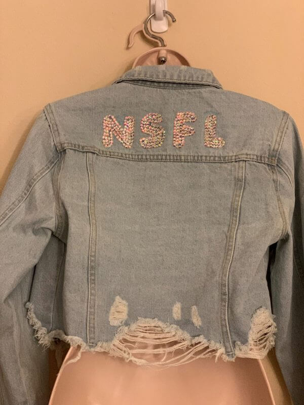 Nsfl cropped denim - plus five apparel - 2021