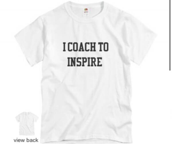 I coach to inspire - plus five apparel - 2021