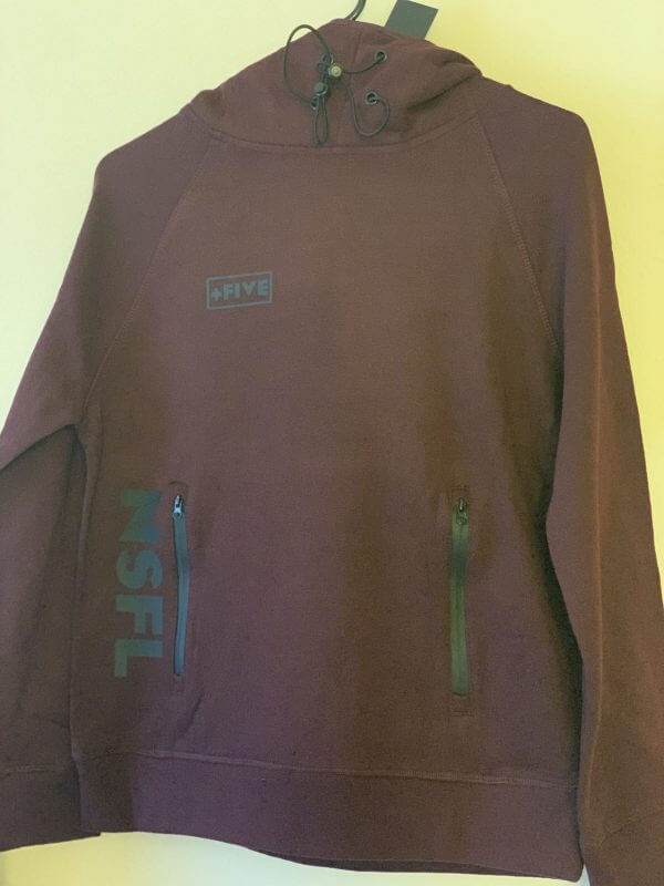 Covered up hoodie - plus five apparel - 2021