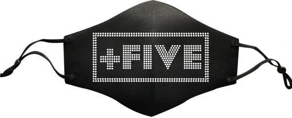 Plus five rhinestone mask - plus five apparel - 2021
