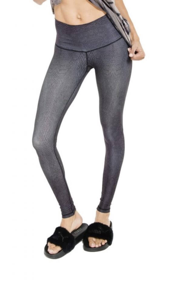 Niyamasol diamondback barefoot mocha leggings - plus five apparel - 2021