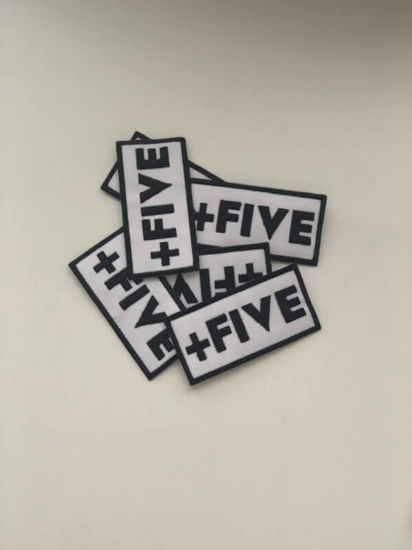 '+five patches - plus five apparel - 2021