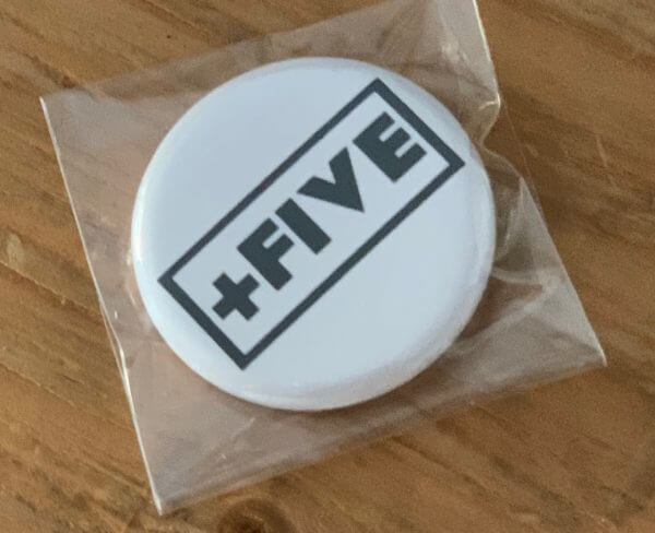 Pins - plus five apparel - 2021